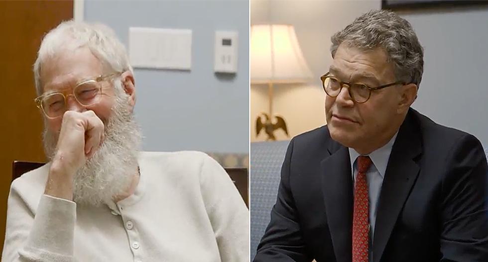 David Letterman and Sen. Al Franken team up to blame 'Siegfried and Roy' Koch for killing the planet