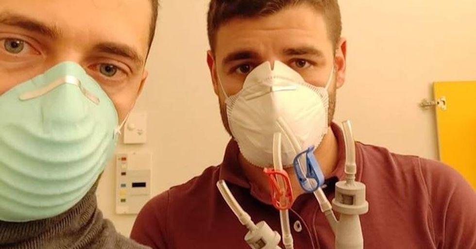 Italians 3D-print key ventilator piece for just $1 to help battle coronavirus -- so medical company threatens to sue them