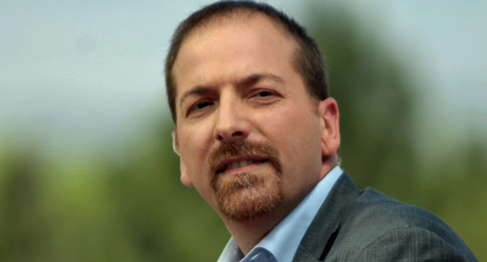 Chuck Todd 'should apologize and resign': MSNBC anchor blasted for Nazi smear