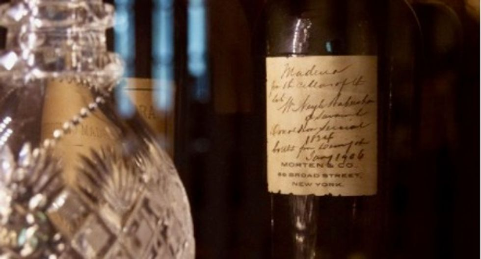 What a find: Museum discovers lost wines almost as old as the country itself