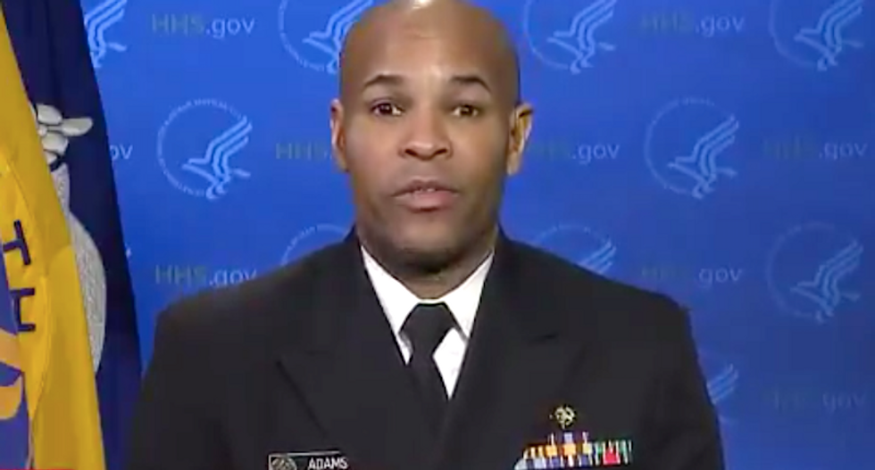 Trump surgeon general: 'I'm begging' White House staffers to avoid large holiday gatherings