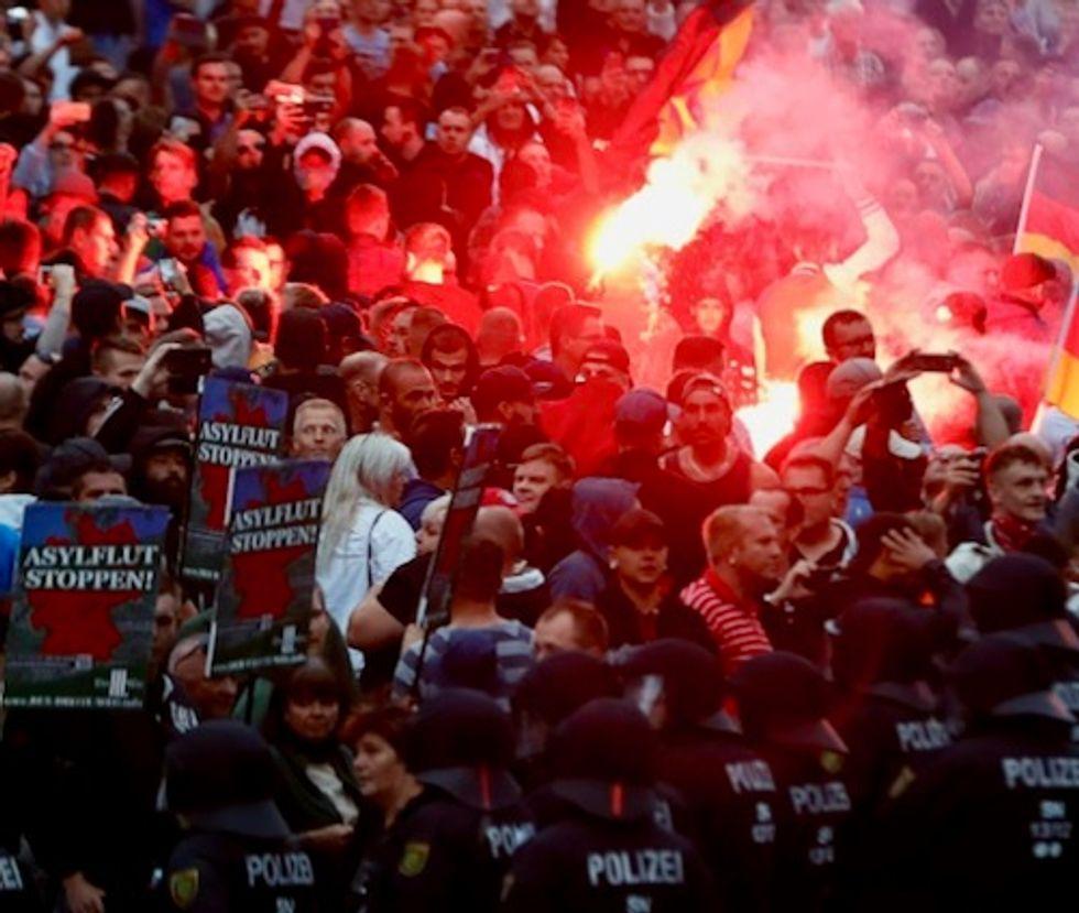 After demos, far-right AfD overtakes German Social Democrats