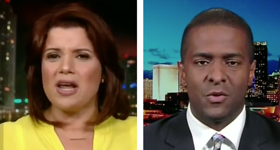 'We thought he was the bright one': Bakari Sellers and Ana Navarro gang up on 'dropped on his head' Don Jr.