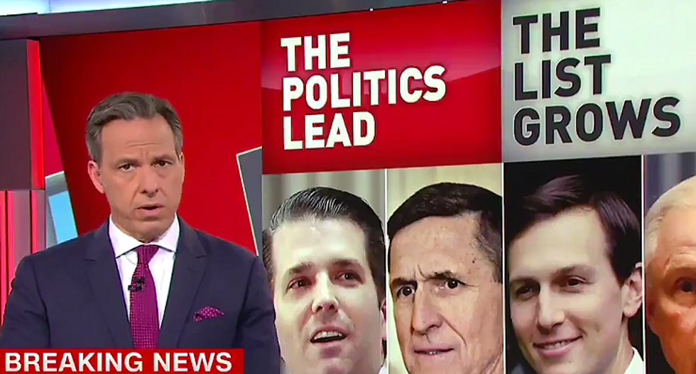 'Why so many lies?': Tapper shreds Trump Jr. for trying to create 'moral outrage' after Russia meeting