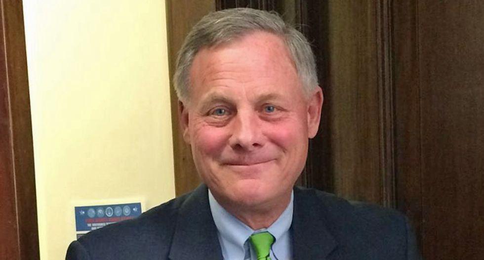 GOP Sen Richard Burr responds to stock-dumping allegations — and his defense makes no sense