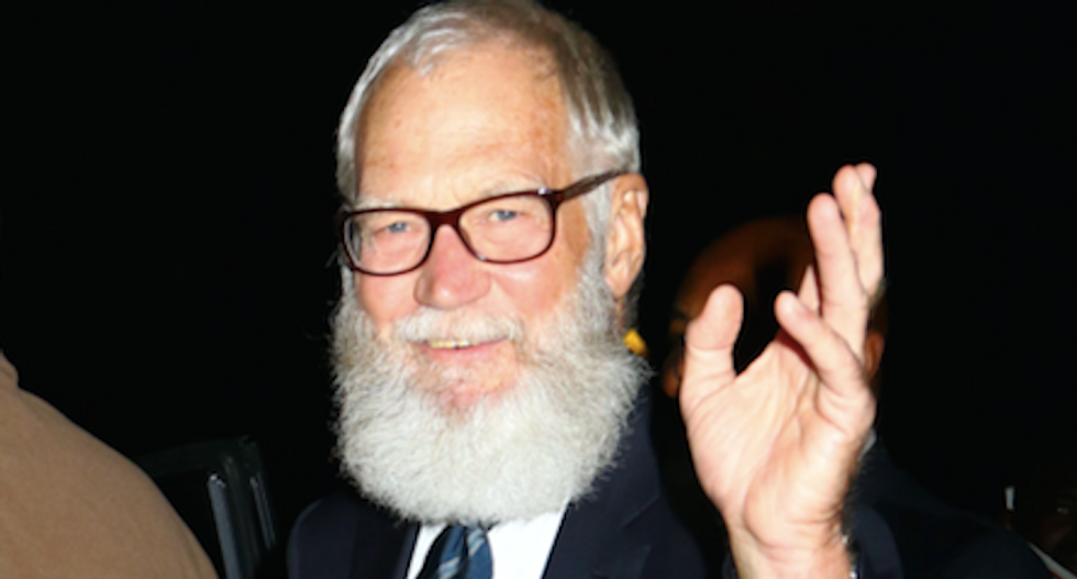 'Put him in a home': David Letterman is tired of all the Trump 'whining' and calls for action