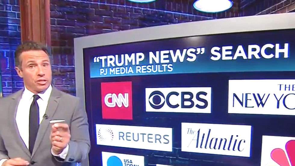 Chris Cuomo breaks down Trump's strategy to distract America: Trump attacking Google is 'devoid of any facts'