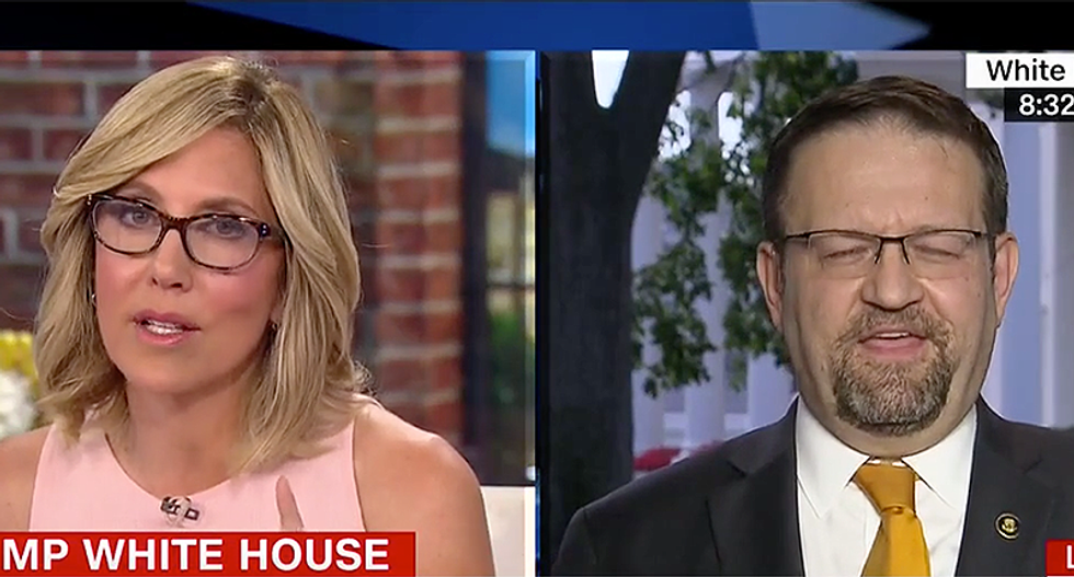 'Your team is obsessed with Clinton' CNN's Camerota hammers Trump adviser for dodging question on Russia meeting