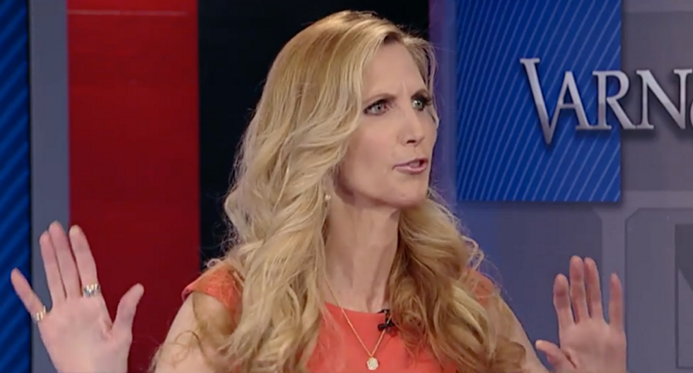 Ann Coulter mocked after posting graph contradicting her claim coronavirus is 'LESS dangerous' than the flu