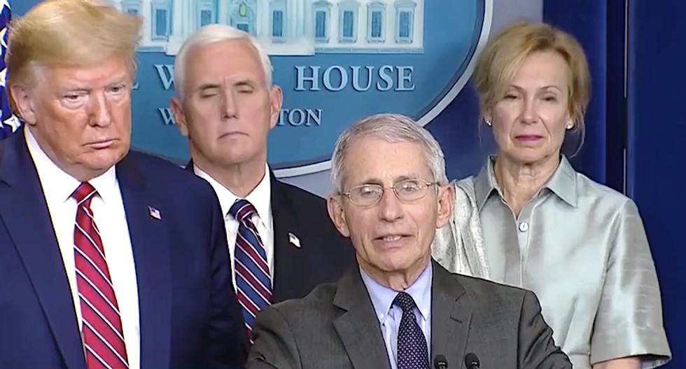 NBC legal analyst reveals Trump's Fauci frustration: Federal workers can only be fired 'for cause'