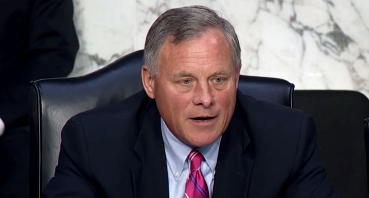Richard Burr rips North Carolina Republicans for censure: 'It is truly a sad day'