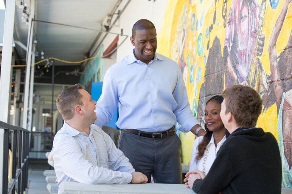 Here are 5 things you need to know about progressive candidate Andrew Gillum who just won a stunning victory in the Florida primary