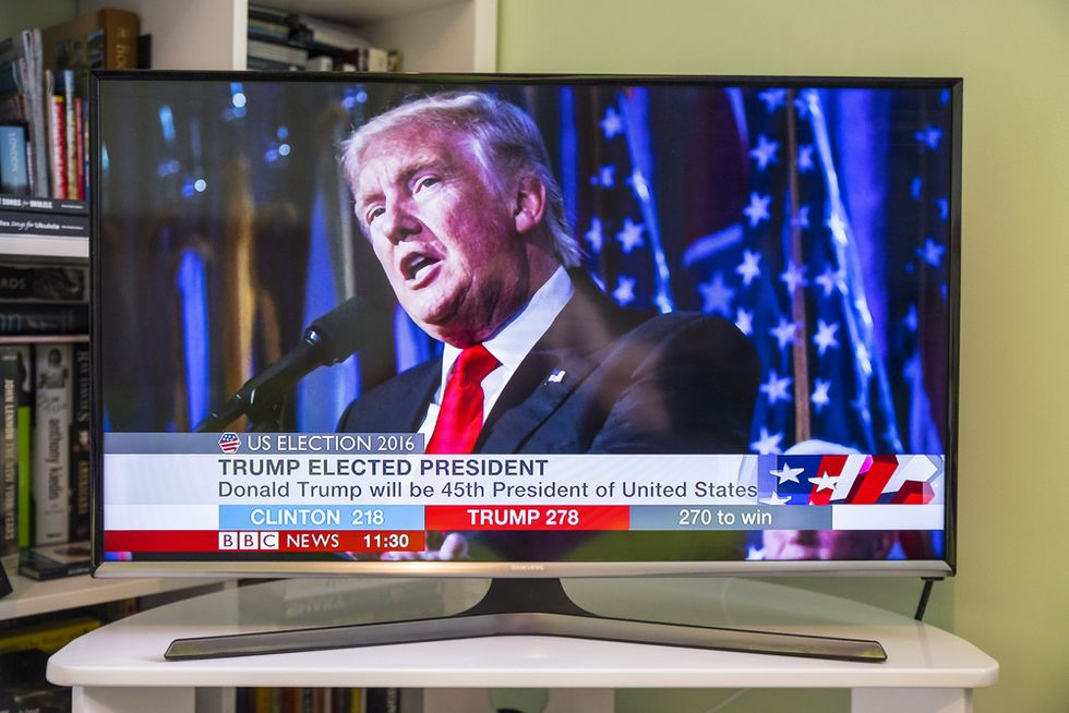 Trump denies watching TV after cable news shows claim he watches lots of TV