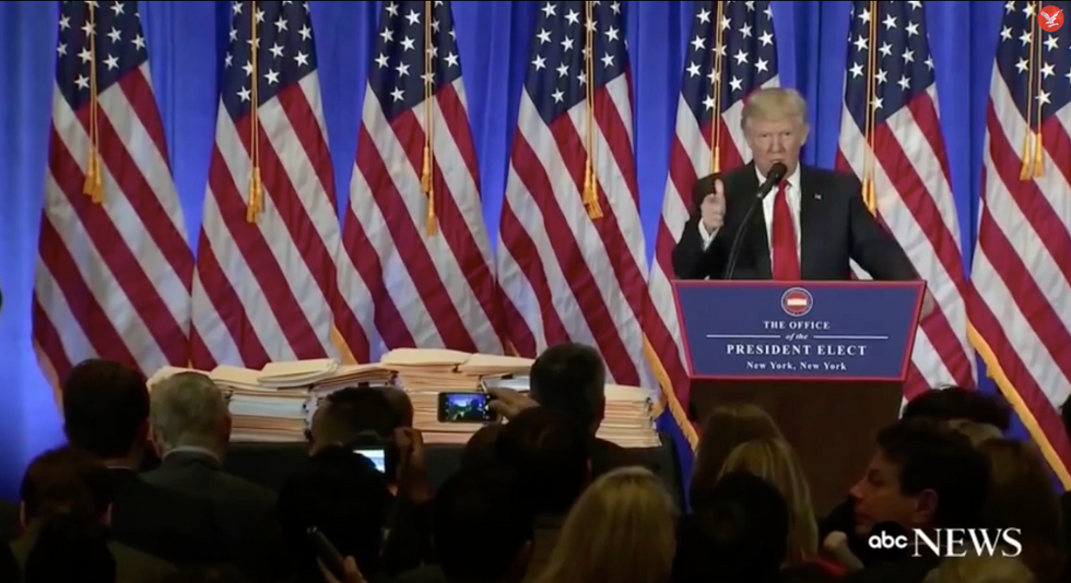 Trump caught in another lie: Paperwork reveals he never stepped away from multiple businesses