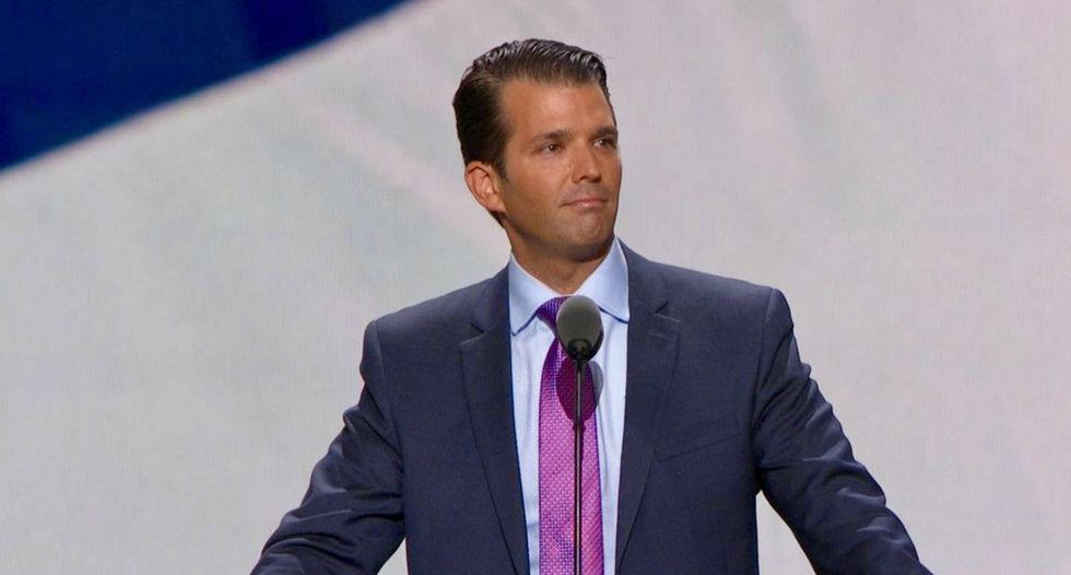 Trump 'personally dictated' misleading statement about Don Jr's meeting with a Russian lawyer: report