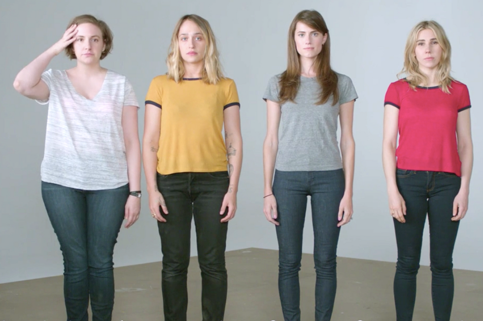 'She is someone': Lena Dunham and 'Girls' cast release powerful video about Stanford rape case
