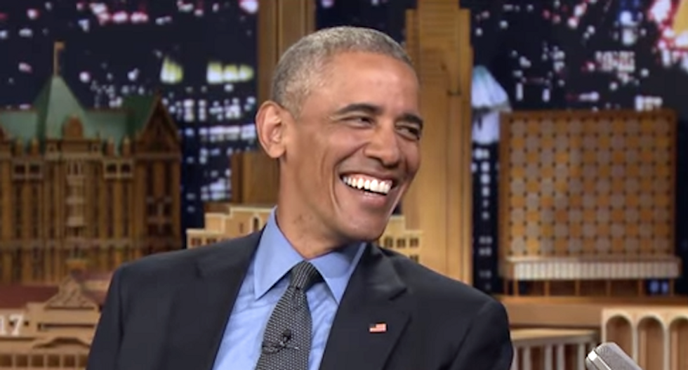 'Hussein Osama -- F him!': Racists lose their sh*t after Obama says America is becoming 'browner'