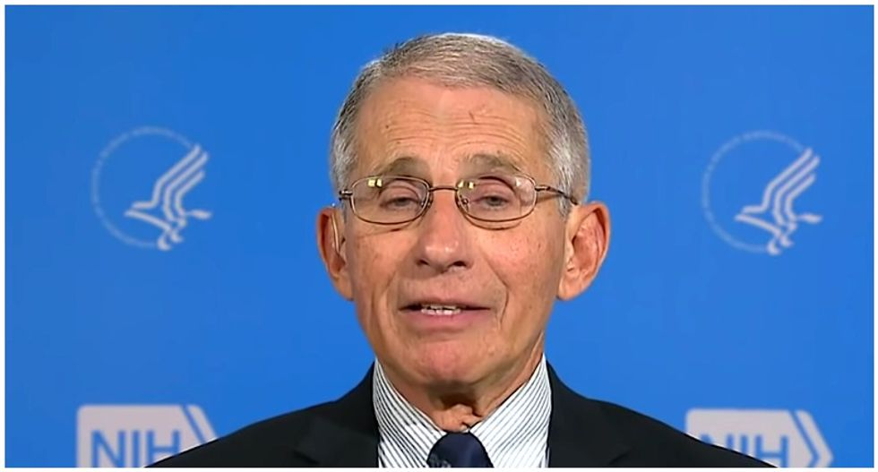 'It's very disrespectful to me -- I'm in my 70s!': Dr Fauci knocks down Trump claims about COVID-19 and the elderly