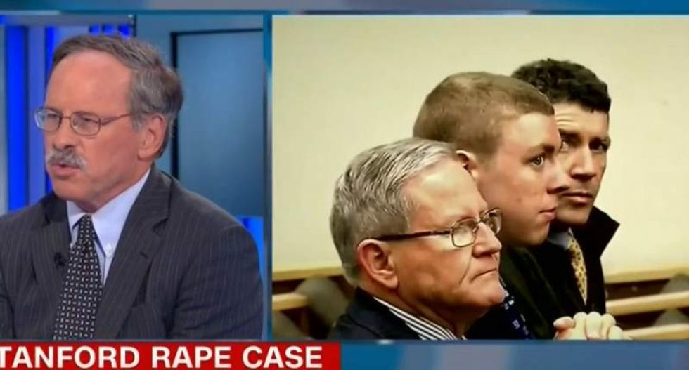 CNN guest: People criticizing Brock Turner's six-month rape sentence are 'missing the point'