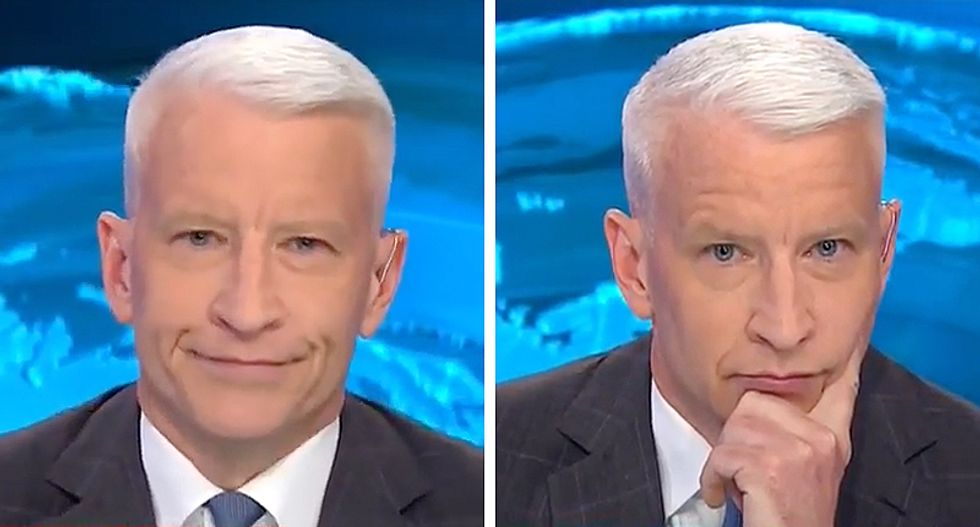 'You're shaking shiny objects!': Cooper obliterates Trump aide for insulting CNN instead of answering questions