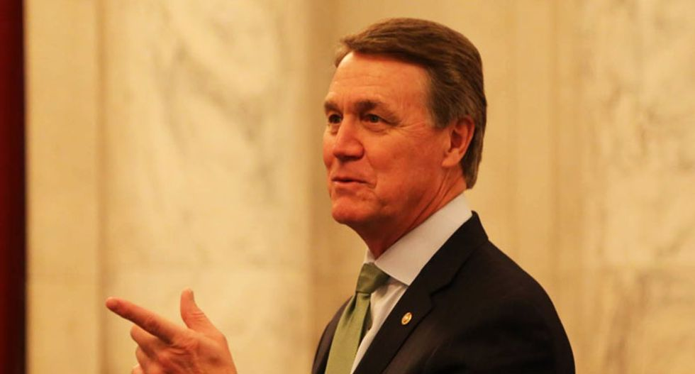 GOP's David Perdue under scrutiny for suspiciously-timed financial moves amid the COVID-19 outbreak