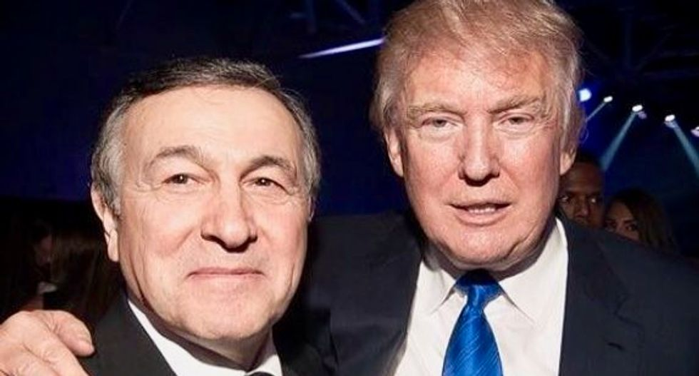 Trump partied with Russian oligarchs at Vegas nightclub shut down over 'lewd' acts involving women and urine: report