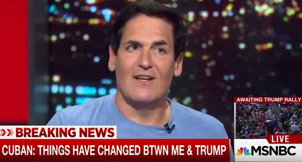 Mark Cuban: Money doesn't turn people into maniacs like Trump - they start out that way