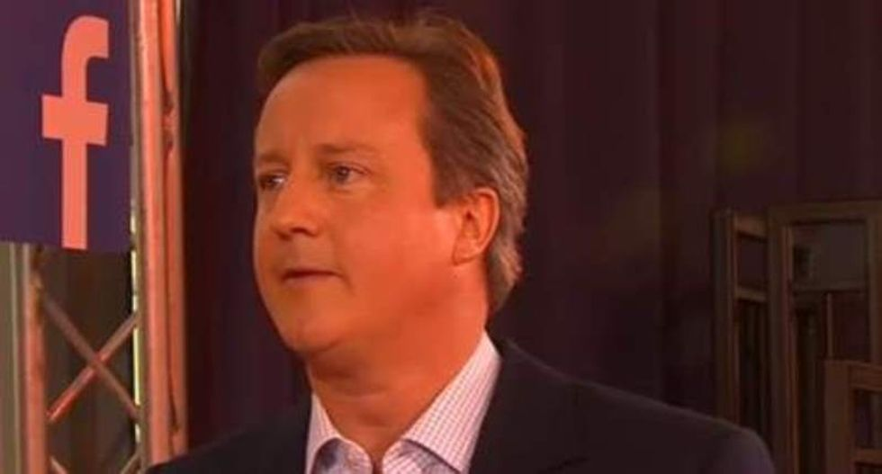 'You f*cked every f*cking thing up': Voter tells off British PM 'Dodgy Dave' Cameron to his face