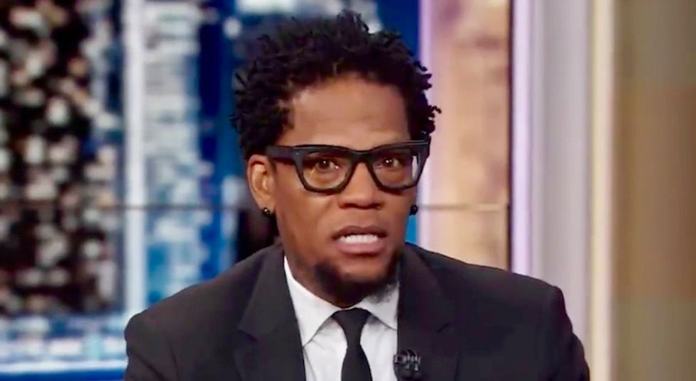 Comedian DL Hughley explains why musician Cardi B is electable in the age of Trump