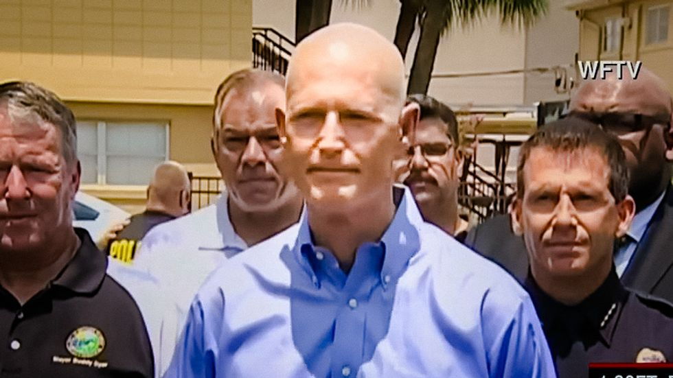 Florida Gov. Rick Scott vows to rid state of 'radical Islam' and tighten immigration laws
