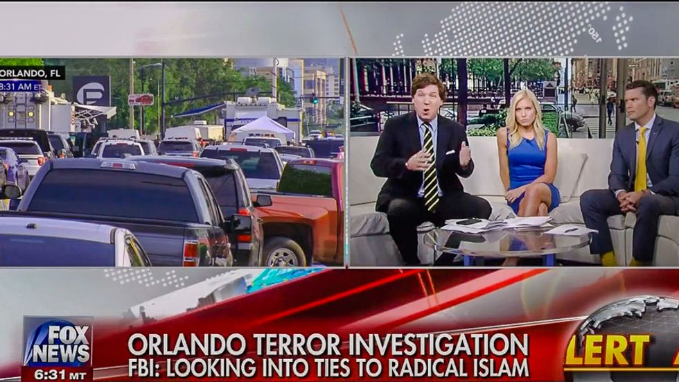 Fox host blames Obama for Orlando nightclub shooting before bodies can be recovered