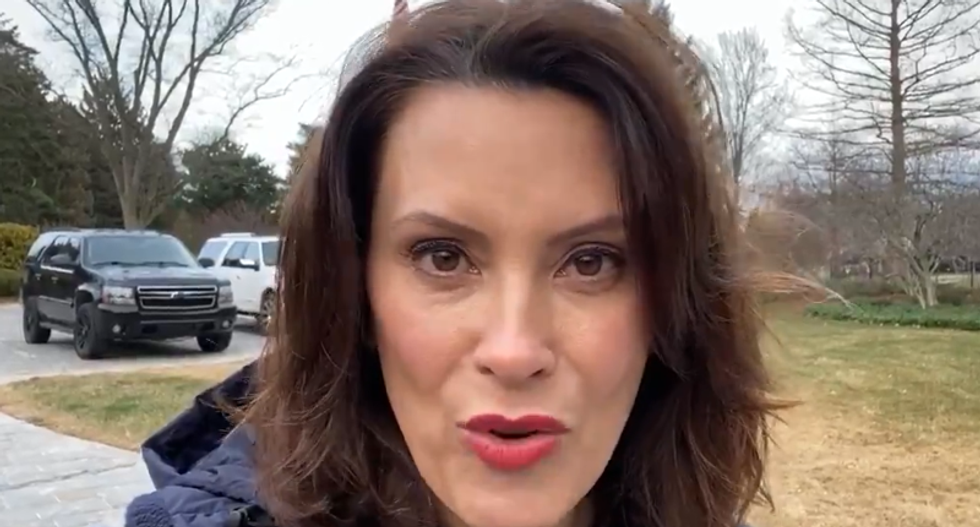 Gretchen Whitmer traveled to Delaware to see Joe Biden in potential veepstakes meeting: AP