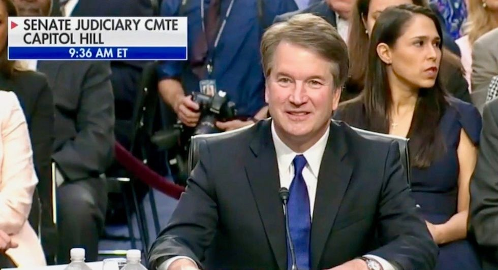 WATCH: Kavanaugh hearing spirals into chaos as Democrats refuse to let GOP chair read opening statement