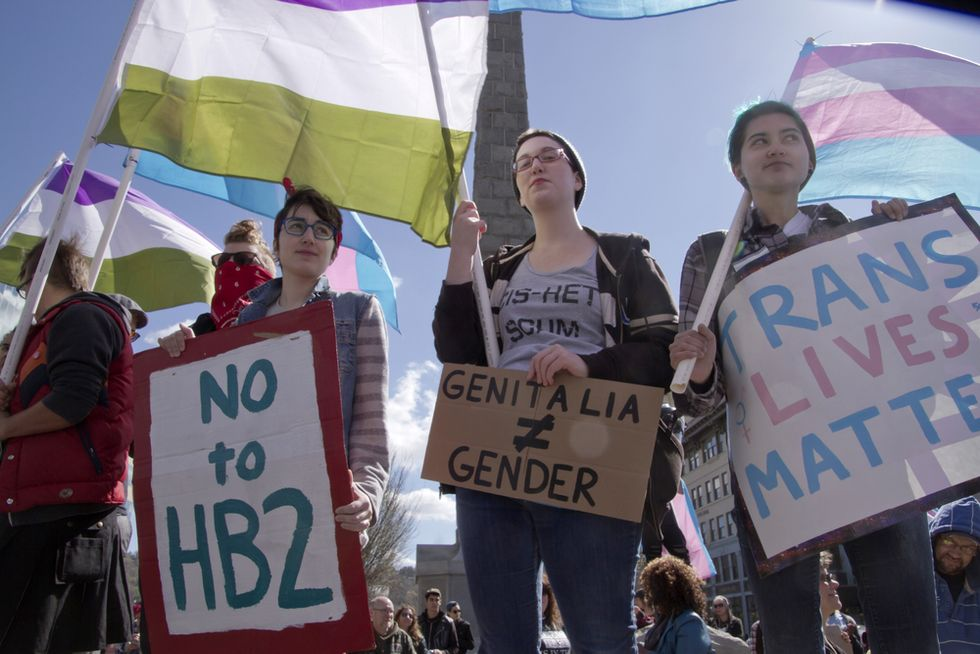 NC trans people: H.B. 2 has made our lives a choice between being safe or breaking the law