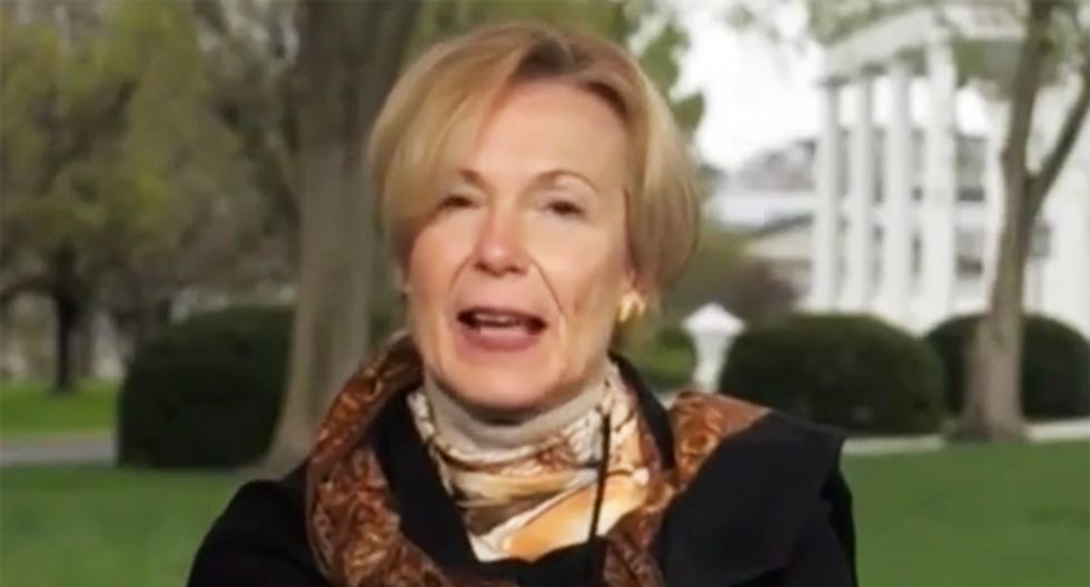 Dr Birx's stunned reaction as Trump recommends injecting disinfectants provides the humor 2020 needed