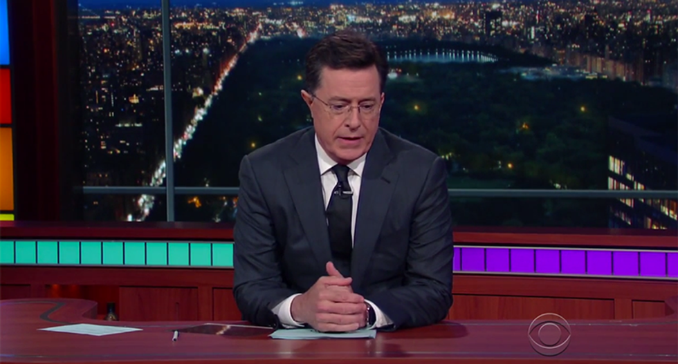 Stephen Colbert calls for action after Orlando: 'Hate wants us to be too weak to change anything'