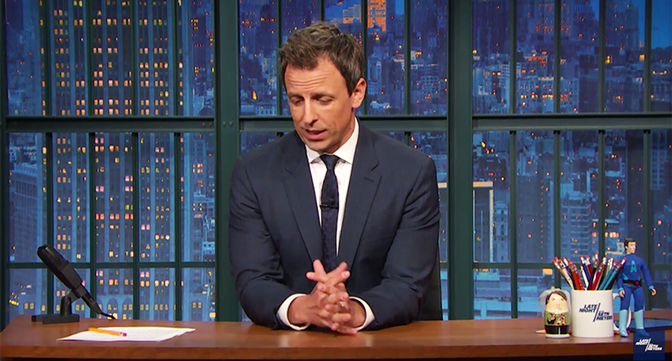 Seth Meyers: Hate drove Orlando gunman into Pulse — but guns killed all those people
