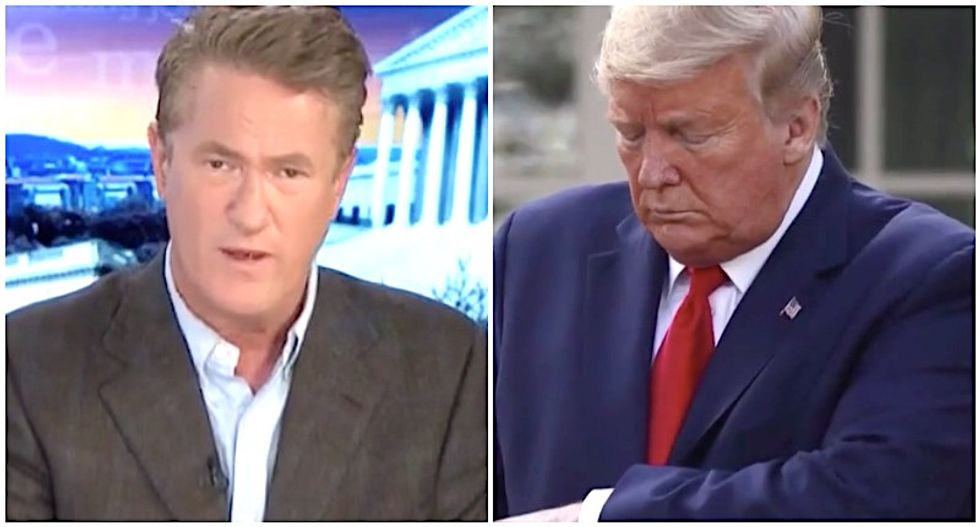 MSNBC's Morning Joe: Trump could do a better job on coronavirus -- if he'd only stop doing this one thing