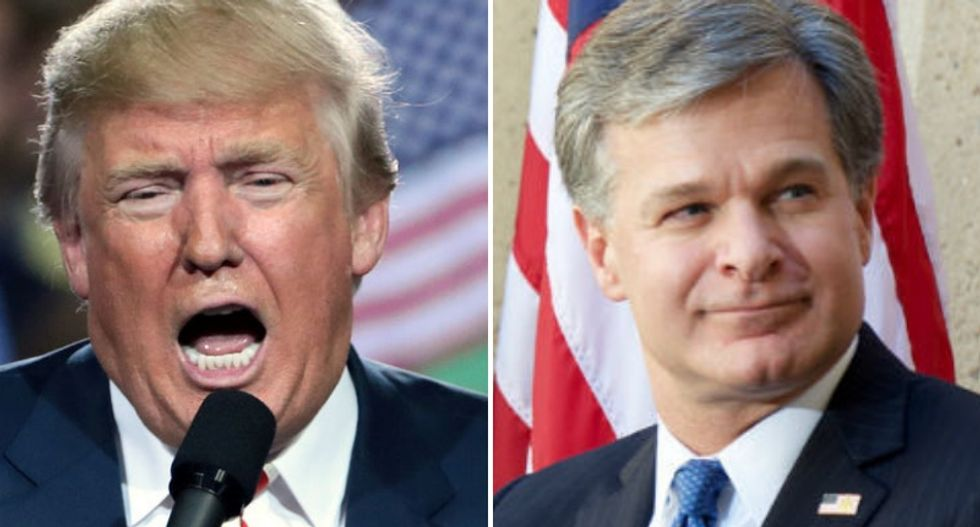 Conservative columnist tells FBI Director Chris Wray to consider resigning over Trump's latest attack