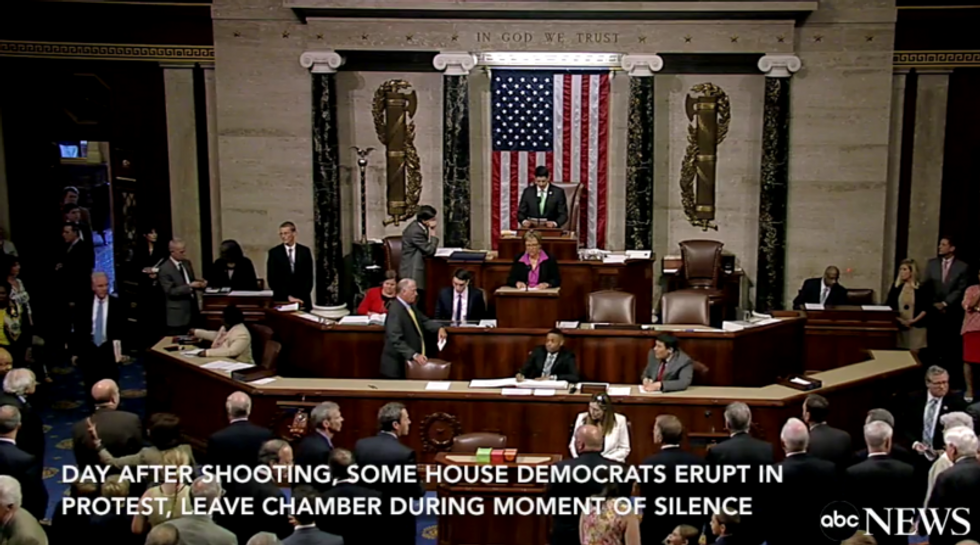 WATCH: House Dems erupt in righteous anger after 'moment of silence' for Orlando victims