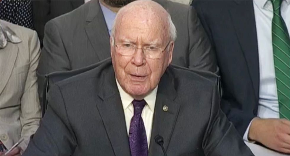 Democratic Sen. Leahy confronts Kavanaugh at contentious hearing: 'You shouldn't be sitting in front of us today'
