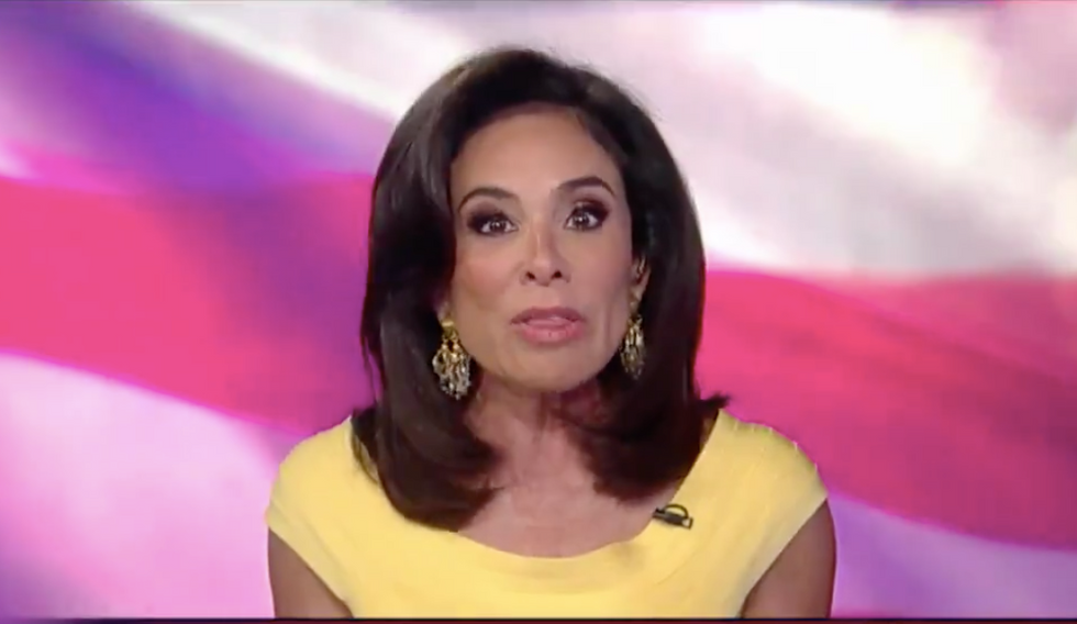 Fox's Judge Jeanine: If the devil had dirt on an opponent I'd be 'on the first trolley to Hell'
