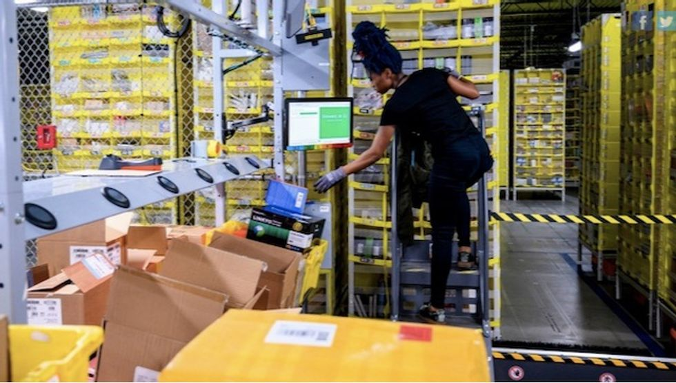 Employees press Amazon for election day holiday