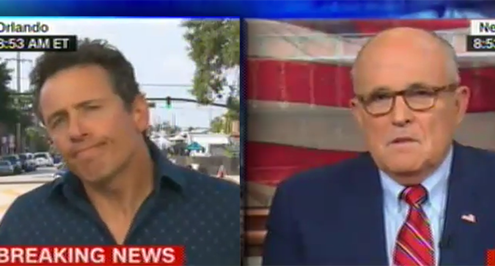 CNN's Chris Cuomo nails Rudy Giuliani on his Islamophobia: Why would you give ISIS what they want?