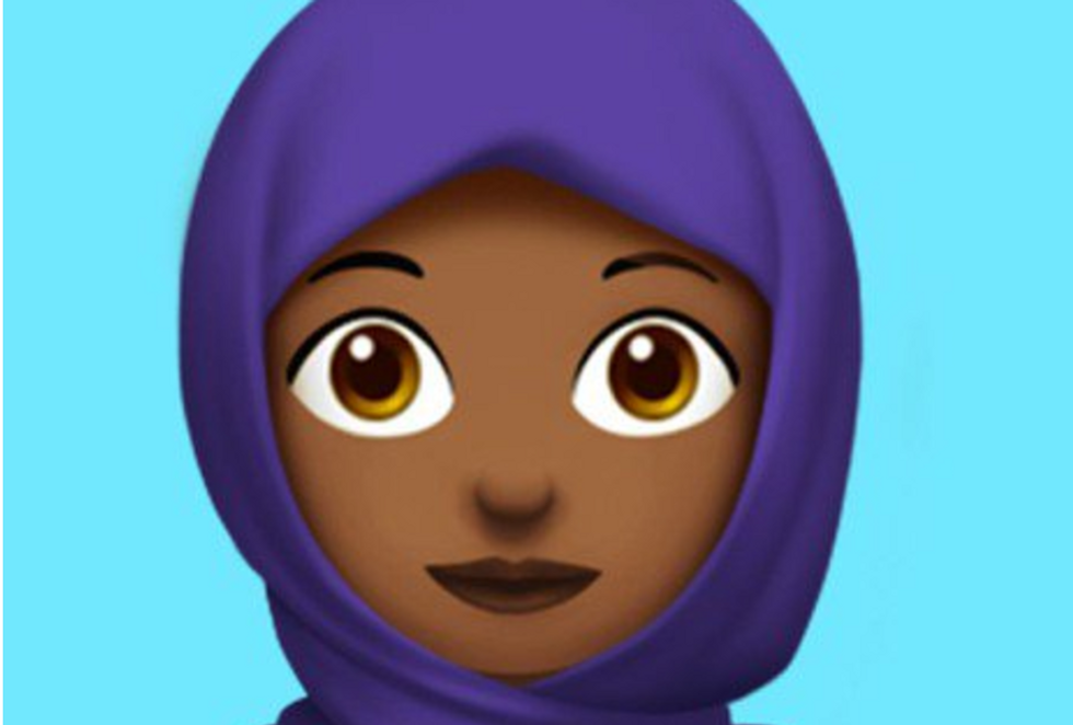 'Creeping Sharia': Internet racists predictably freak out over Apple's new Muslim hijab emoji