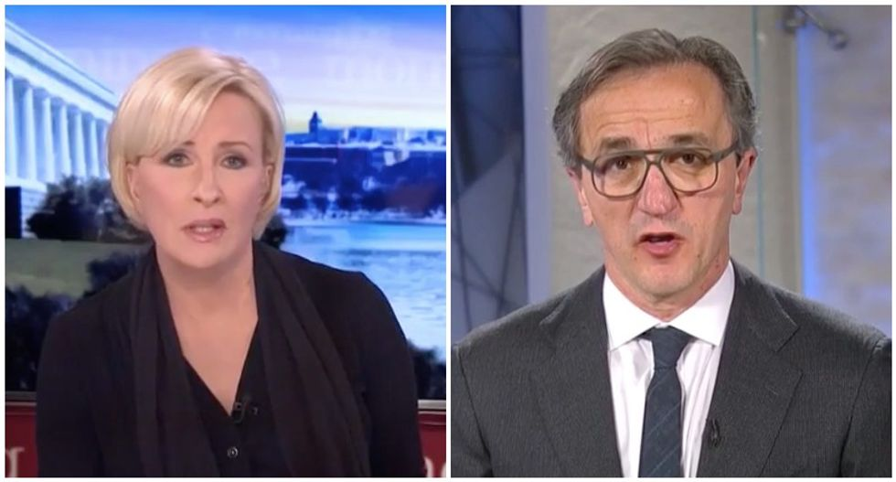 Cleveland Clinic CEO stuns MSNBC's Mika with warning for how long COVID-19 might ravage his state