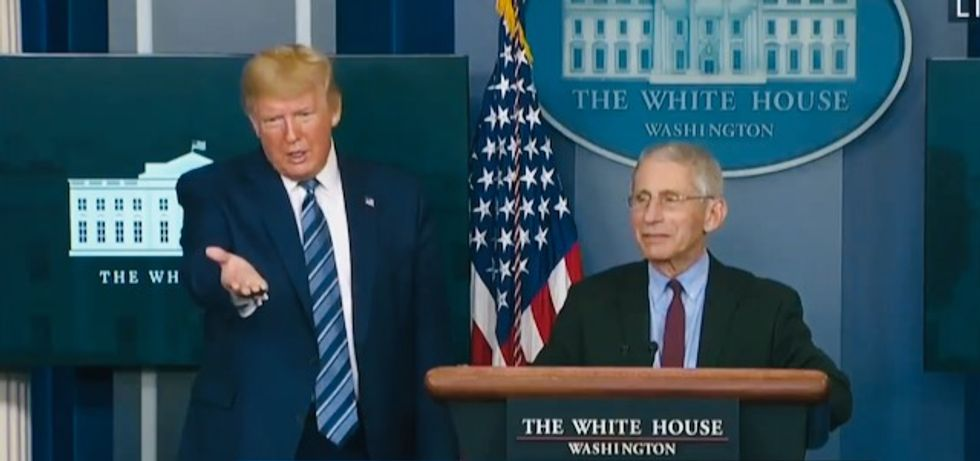 Columnist explains deep and disturbing reason Fauci is furious at Trump's distorted campaign ad