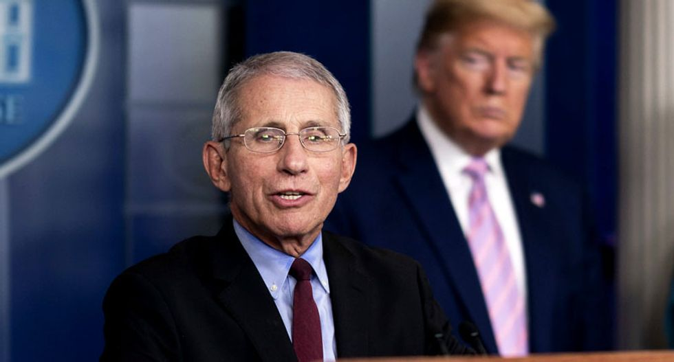 Senior White House staff would 'roll their eyes' at Dr. Fauci while he was trying to brief Trump: Ex-official