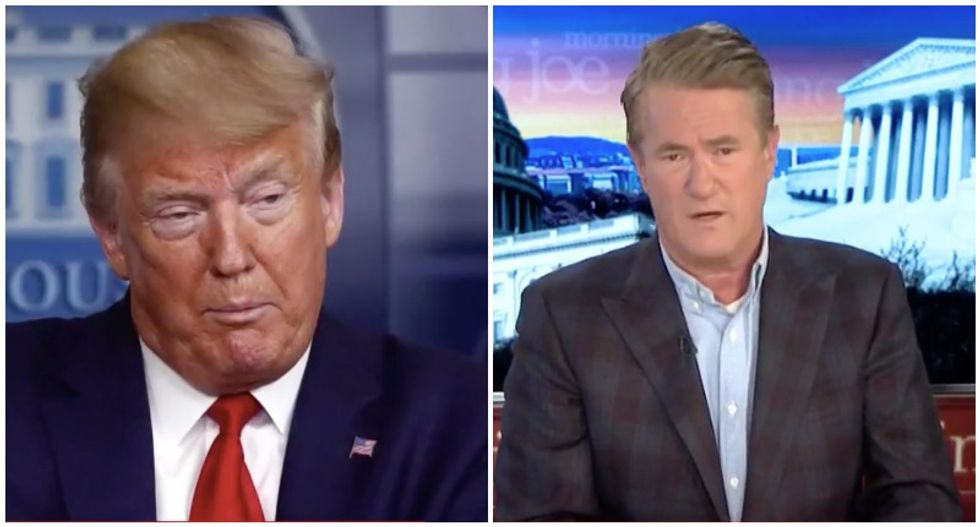 Trump's no 'political genius' -- 'he buries himself every afternoon' with crazed COVID-19 briefings: MSNBC's Morning Joe