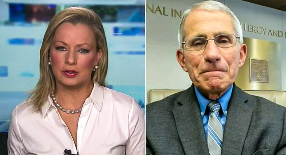 'I prefer not to get involved': Dr. Fauci won't support Trump's attack on the World Health Organization